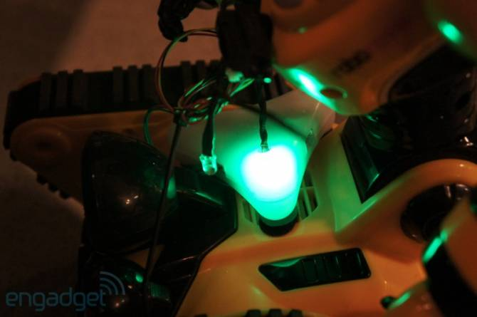 Захват электротехники от Brainlink