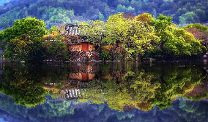 Пейзажи Южной Кореи в фотографиях Jaewoon U
