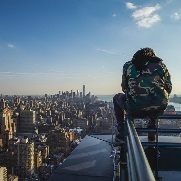 Нью-Йорк глазами руфера Vic Invades