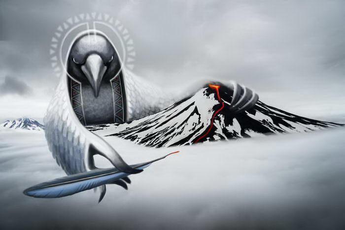 Сказки Камчатки в иллюстрациях Marina Fandeeva