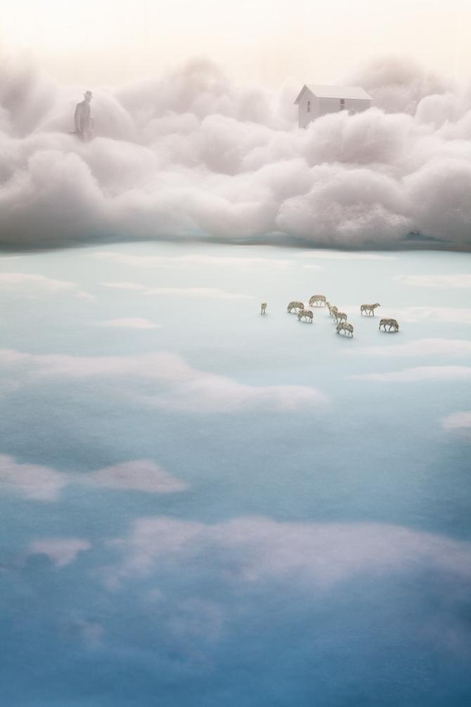 Миниатюрный мир в фотографиях Adrien Broom