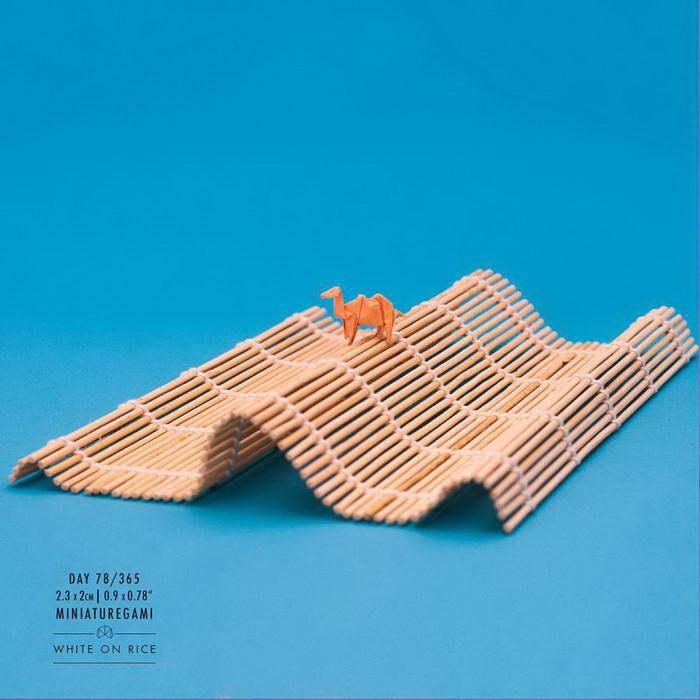 Миниатюрные оригами Ross Symons