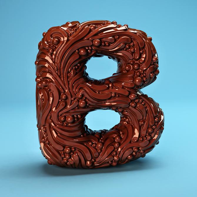 Креативный алфавит: The Sculpted Alphabet