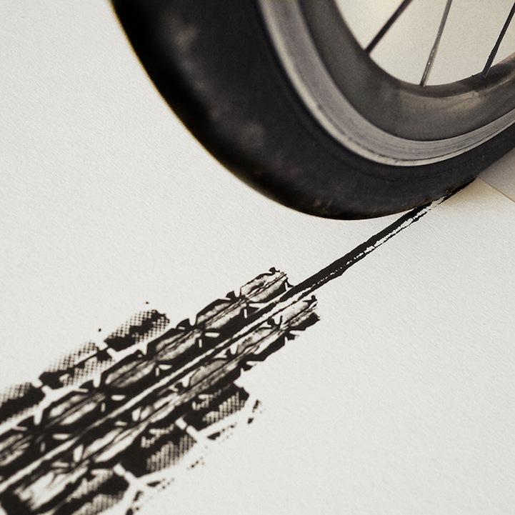 Велосипедный рисунок