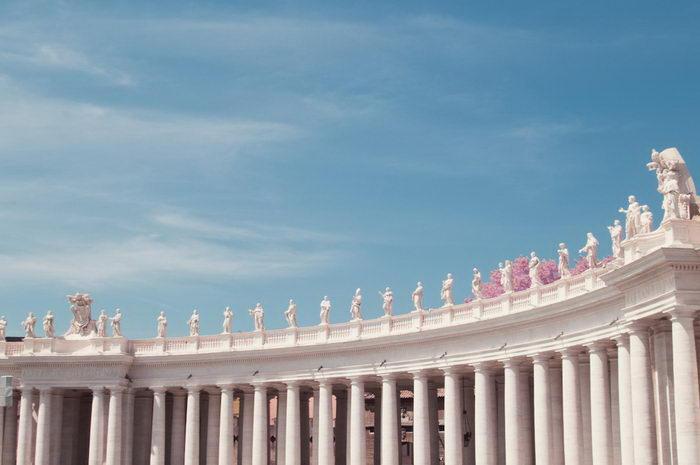 Инфракрасный Рим в фотографиях Milan Racmolnar