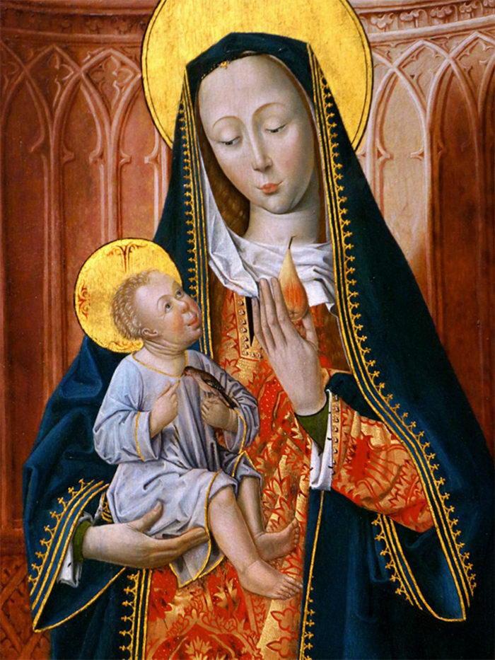 Страшные дети на картинах эпохи Возрождения
