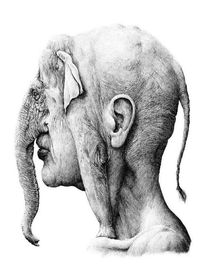 Странные и жутковатые рисунки Redmer Hoekstra