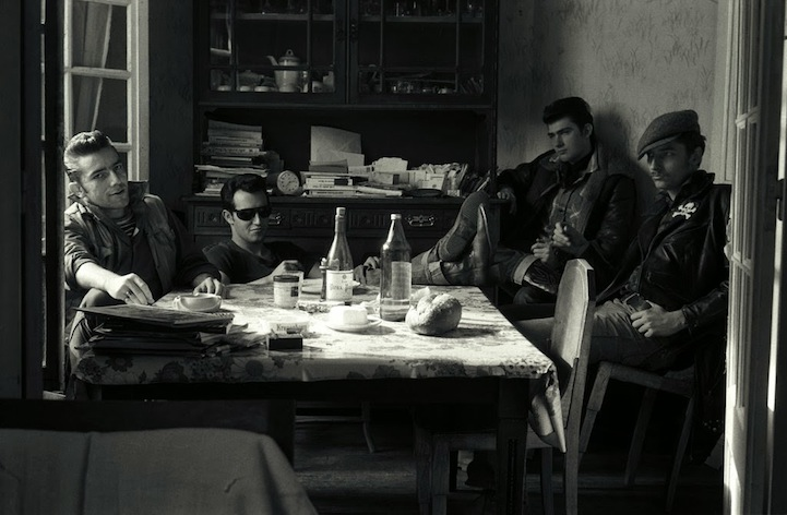 Байкеры в фотографиях Yan Morvan