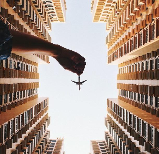 Самолетики в фотопроекте Varun Thota