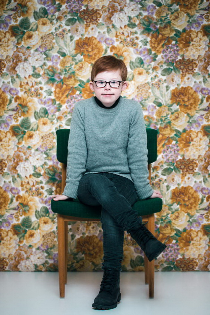 Портреты людей с синдромом Дауна