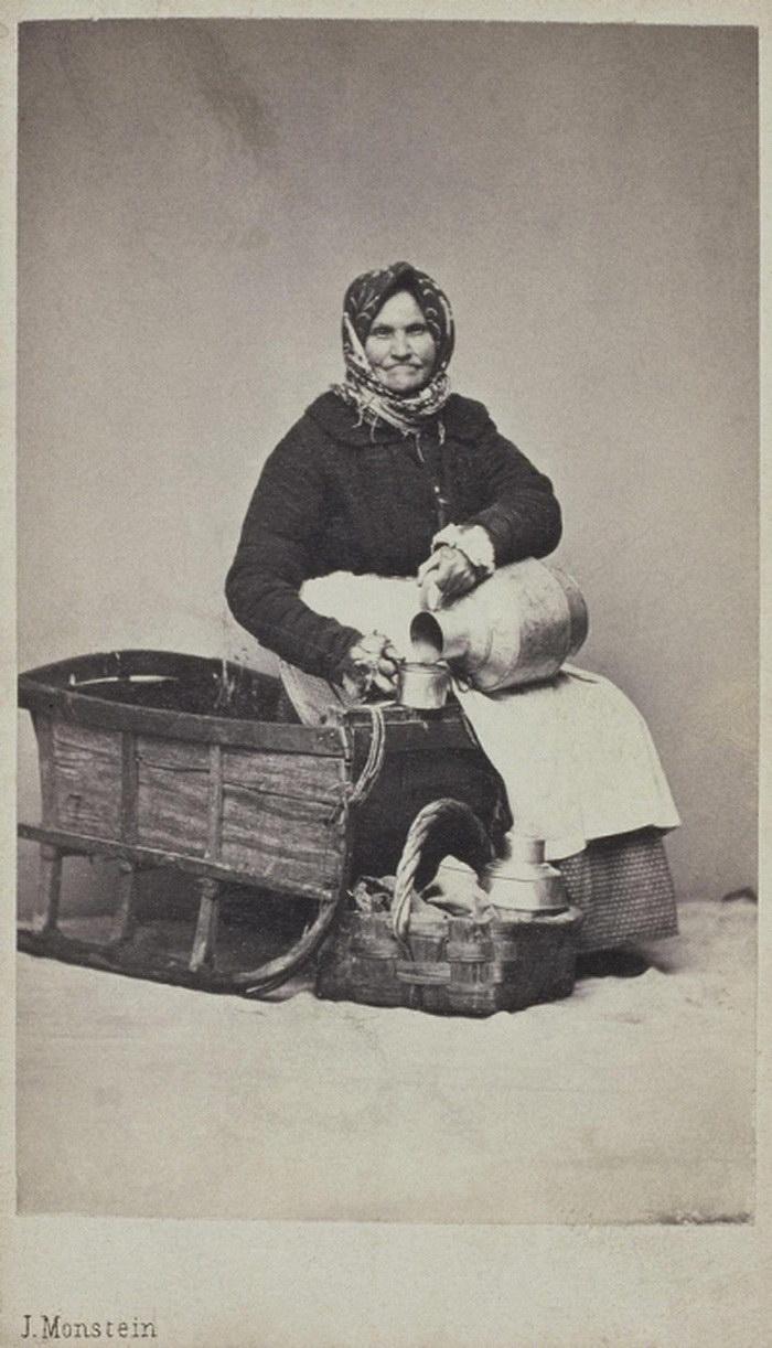 Россияне разных профессий на фотографиях XIX века