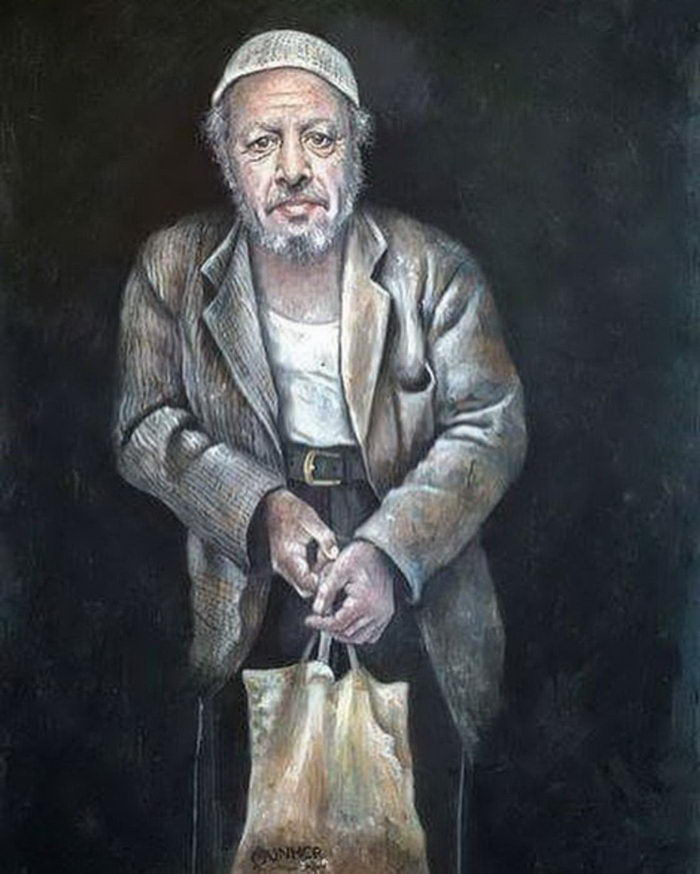 Мировые лидеры в виде беженцев: рисунки Abdalla Al Omari