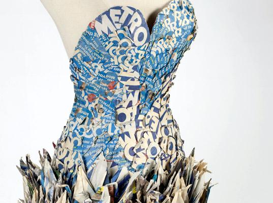 Платье из оригами от Юлии Кирпо (Yuliya Kyrpo)