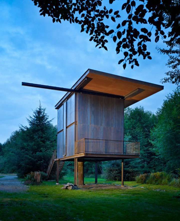 Небольшой дом на природе