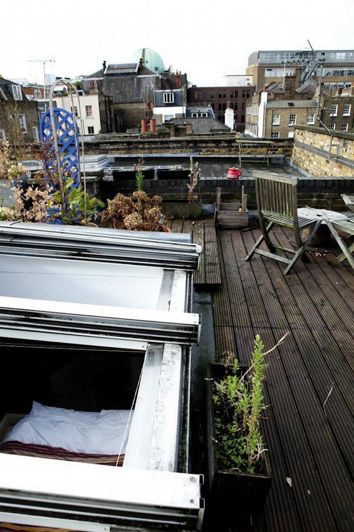 Квартира в Лондоне с выходом на крышу