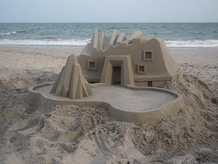 Замки из песка Calvin Seibert