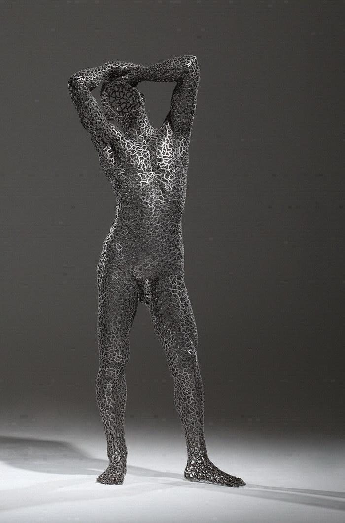 Металлические скульптуры Young-Deok Seo