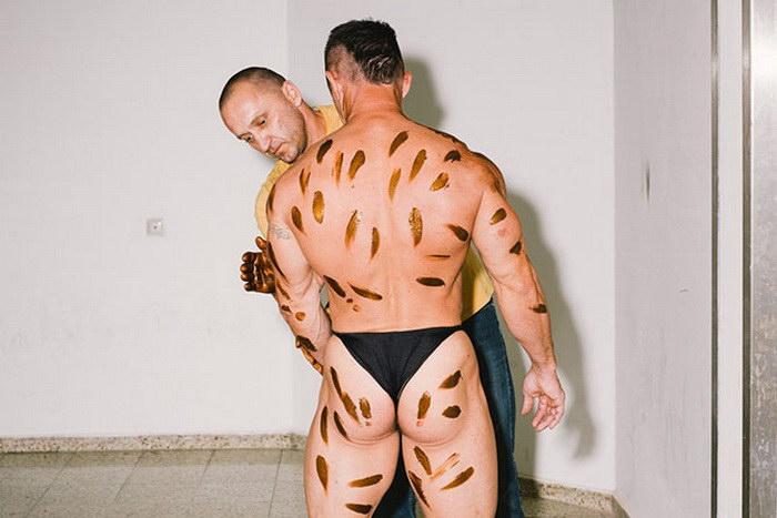 Культуристы за сценой в фотографиях Daniel Gebhart de Koekkoek