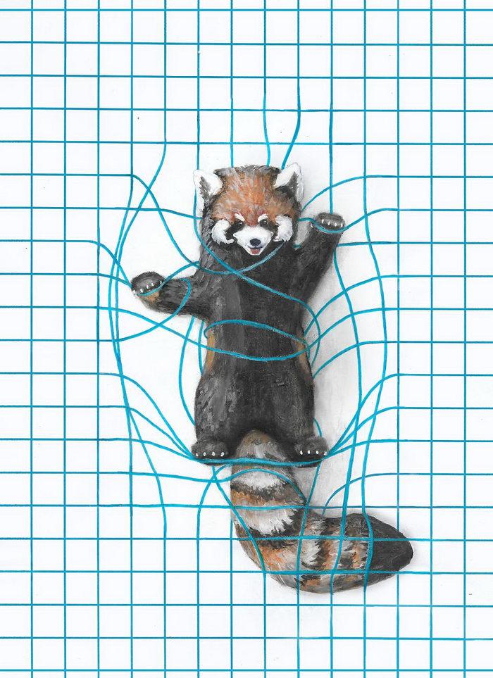 Забавные иллюстрации Iantha Naicker