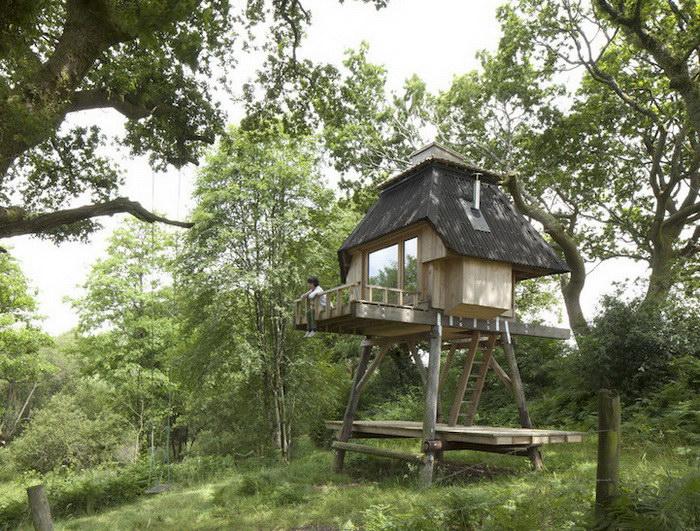 Дом для уединения на природе