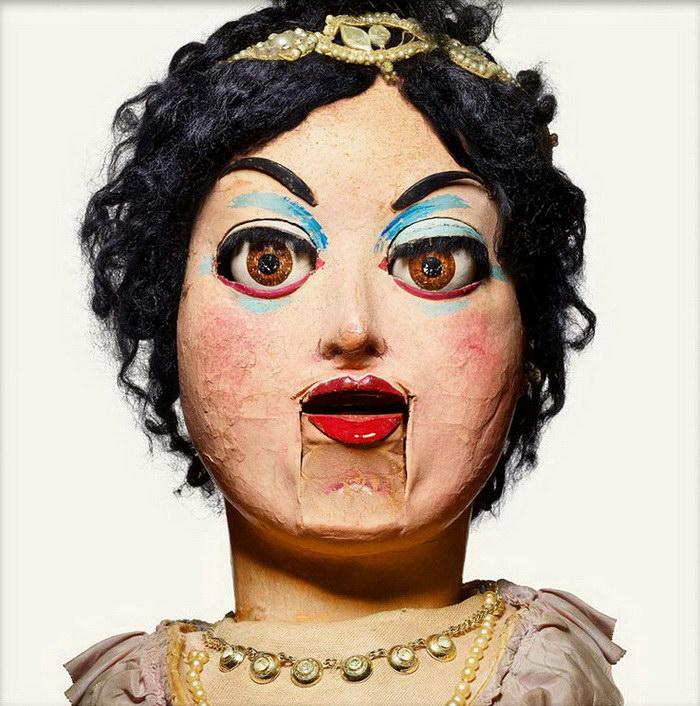 Куклы чревовещателей в фотографиях Matthew Rolston