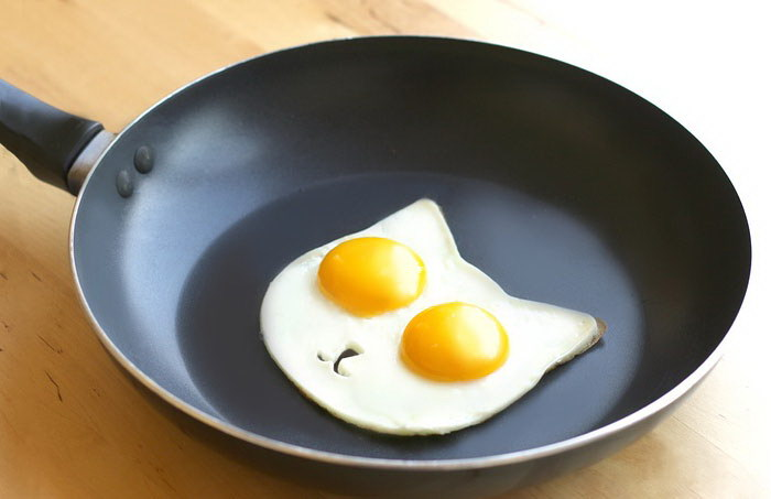 Форма для яичницы в виде кошки