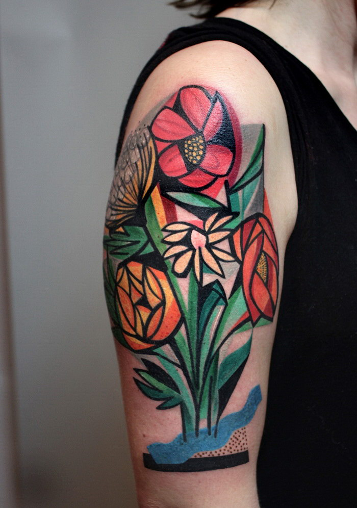 Татуировки Peter Aurisch
