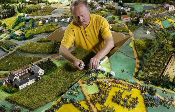 Битва при Ватерлоо: миниатюры Willy Smout