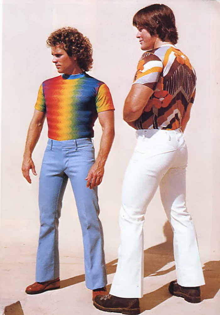 Суровая и беспощадная мужская мода 1970-х годов