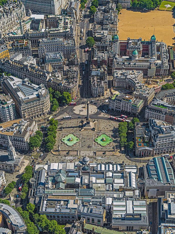 Лондон из неба: фотографии Bernhard Lang