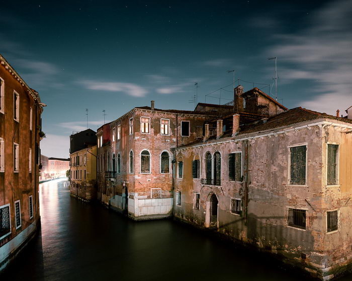 Ночная Венеция в фотографиях Thibaud Poirier
