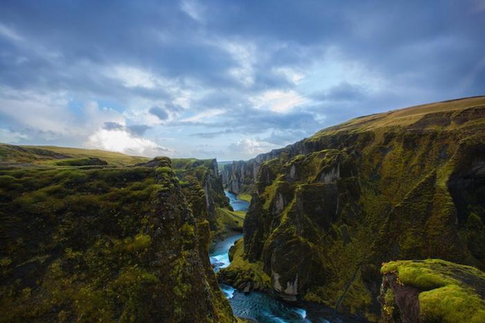 Каньон Fja?r?rglj?fur в Исландии
