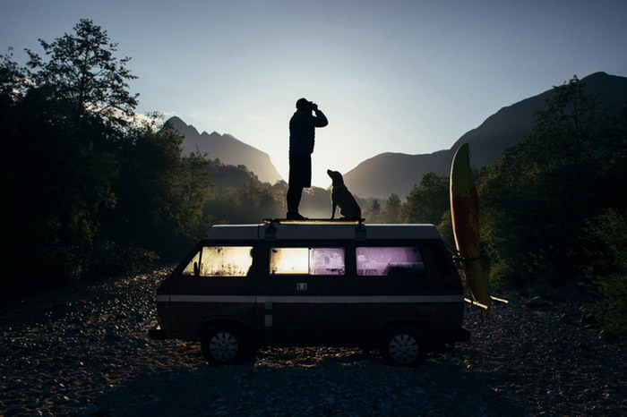 Путешествия по миру в фотографиях Anze Osterman