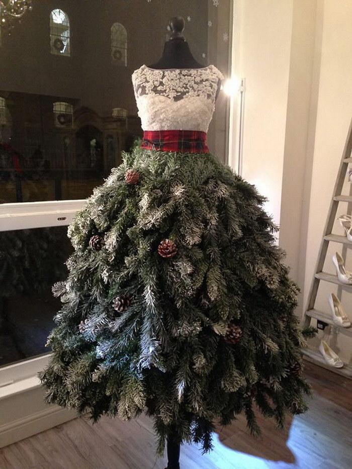 20 необычных новогодних елок для настоящих оригиналов