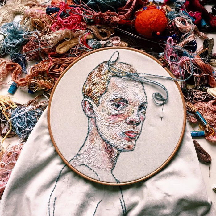 Вышитые картины Lisa Smirnova
