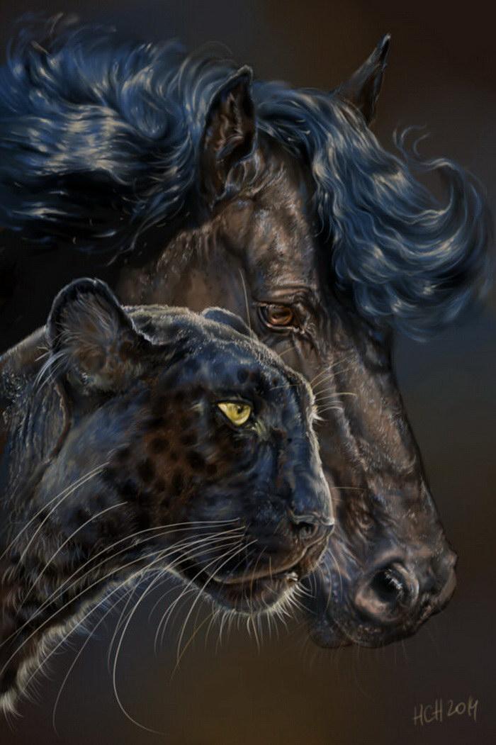 Работы художницы Animal75Artist
