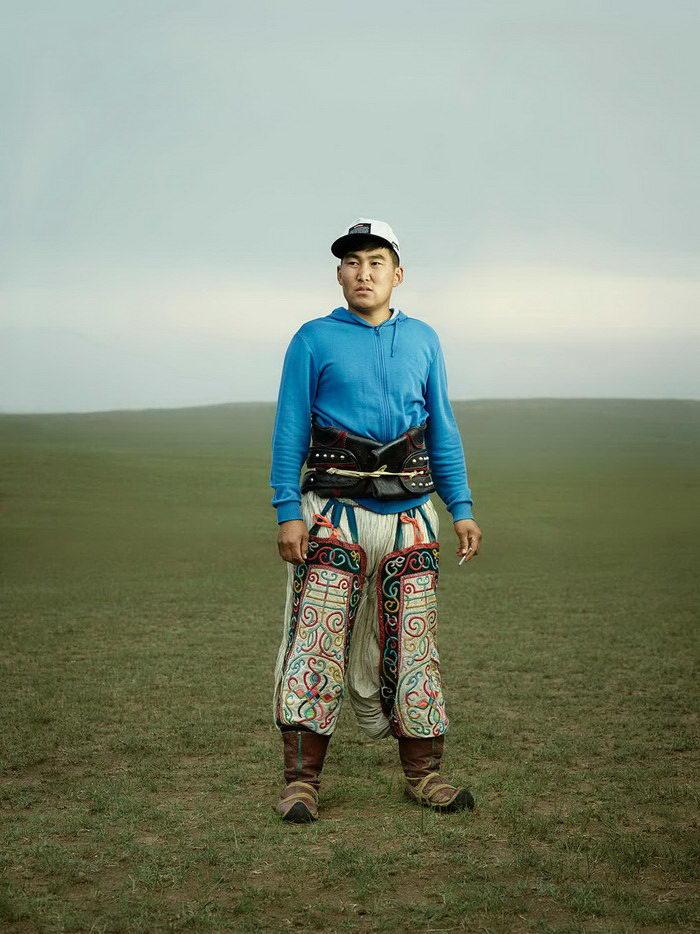 Монгольские борцы Бох в фотографиях Ken Hermann