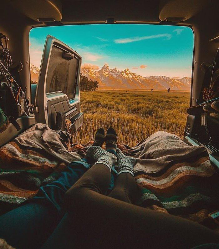 VanLife: 30 фотографий, вдохновляющих на жизнь в путешествии