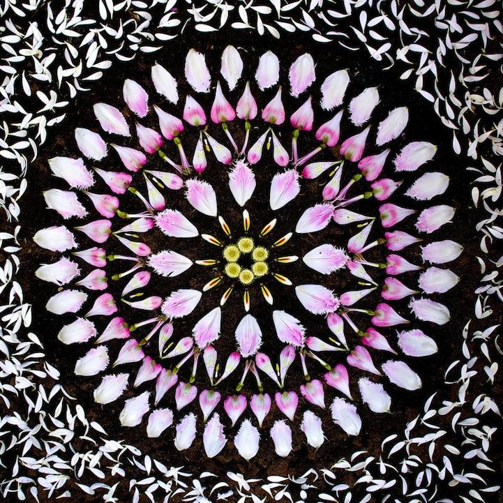Цветочная мандала Kathy Klein