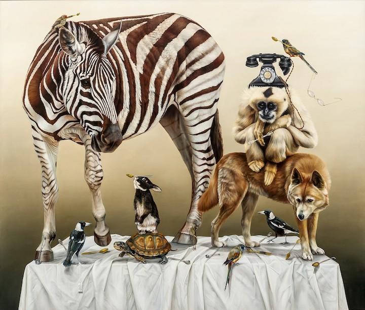 Животные на картинах Kate Bergin