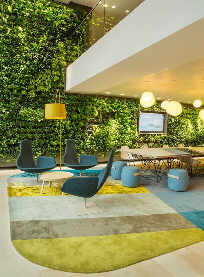 Симпатичный офис компании Nuon в Амстердаме