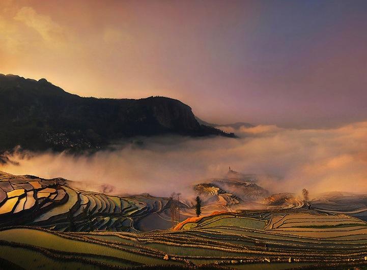Азиатские пейзажи Weerapong Chaipuck