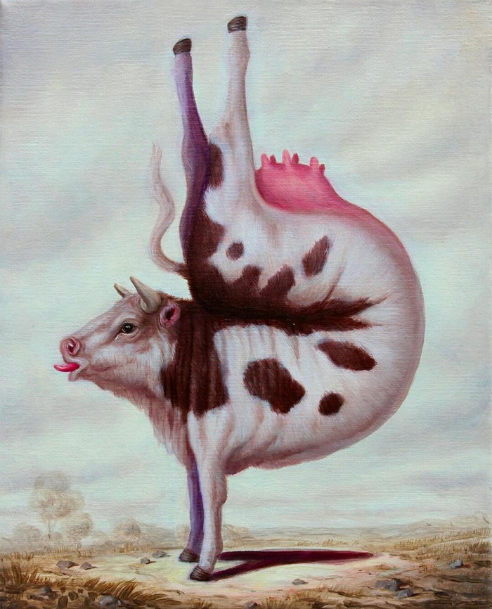 Забавные картины Bruno Pontiroli