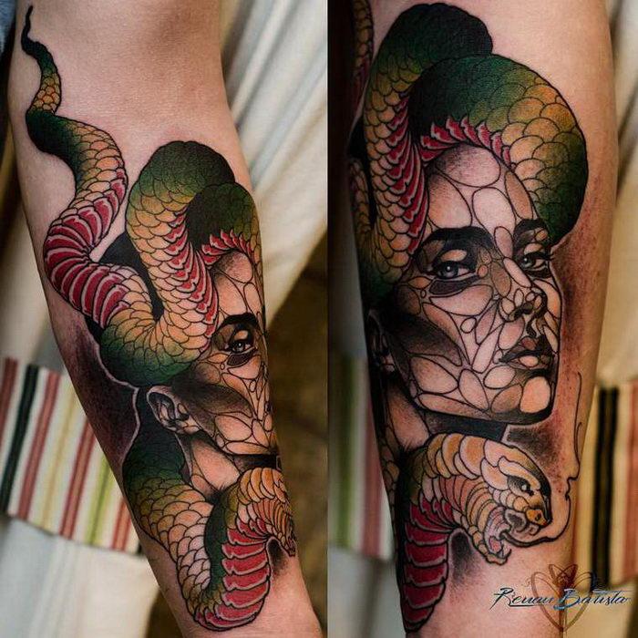 Стильные татуировки Renan Batista
