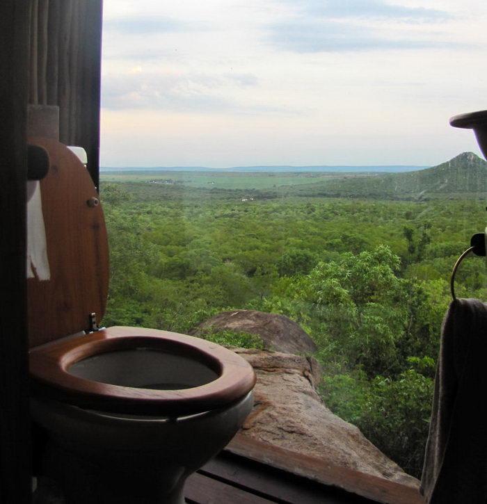 Панорамные виды из туалетов со всего мира