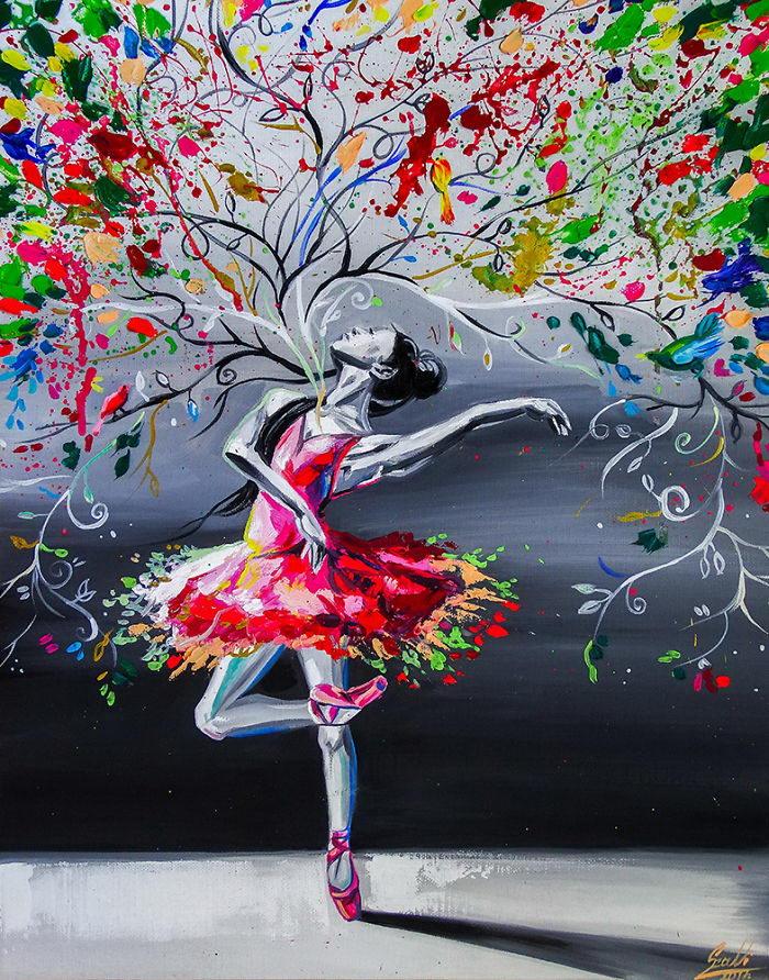 ?Любовь к балету Vivien Szaniszlo