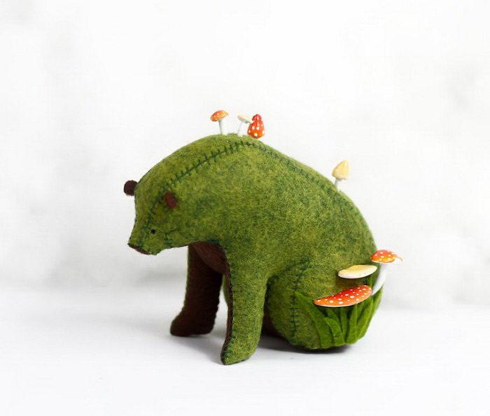 Милые мишки ручной работы Jessie Cunningham