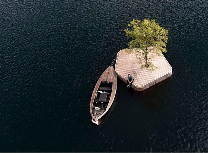 Остров уединения посреди Копенгагена