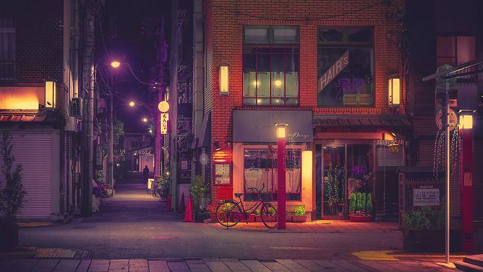Япония в фотографиях Anthony Presley