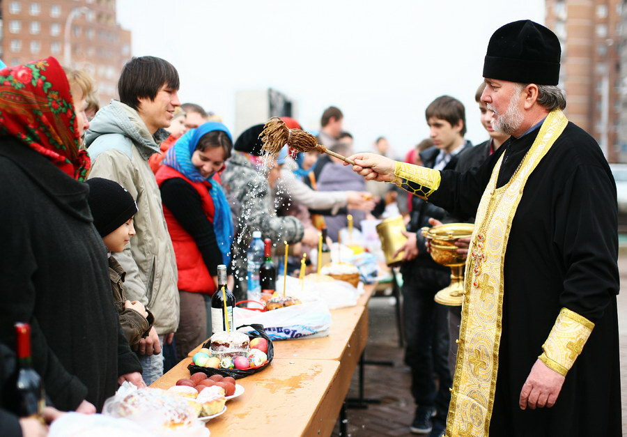 Пасха в России и других странах мира